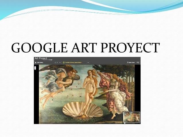 GOOGLE ART PROYECT