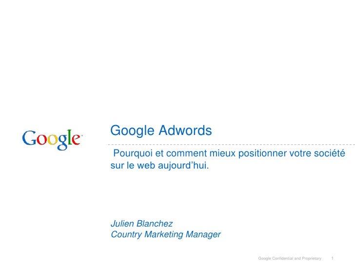Internet et exportations (Google AdWords)