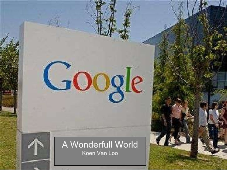 Google A Wonderfull World 20586
