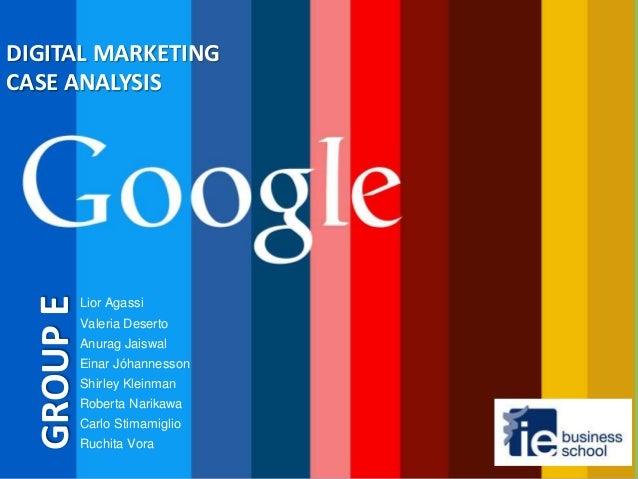 Google Case Analysis