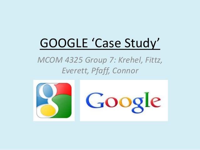 Google case study 2