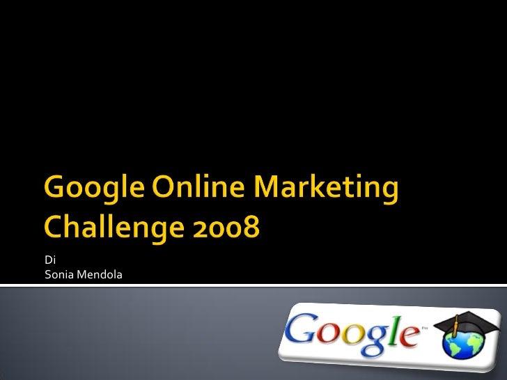 Google Challenge 2008 - Palermo GTUG marzo 2010