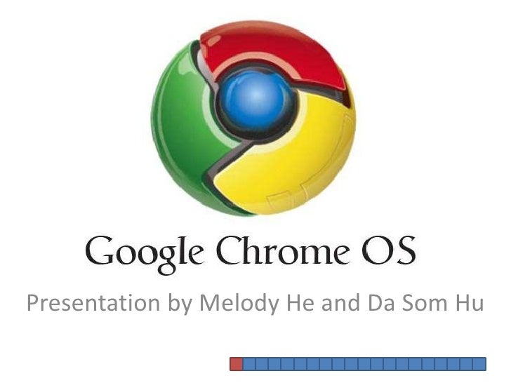 Chrome OS presentation