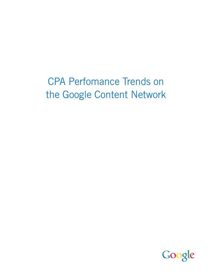 Google Content Network Whitepaper