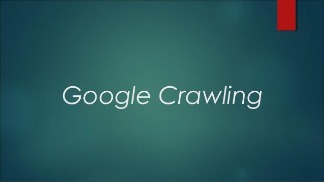 Google crawling SEO