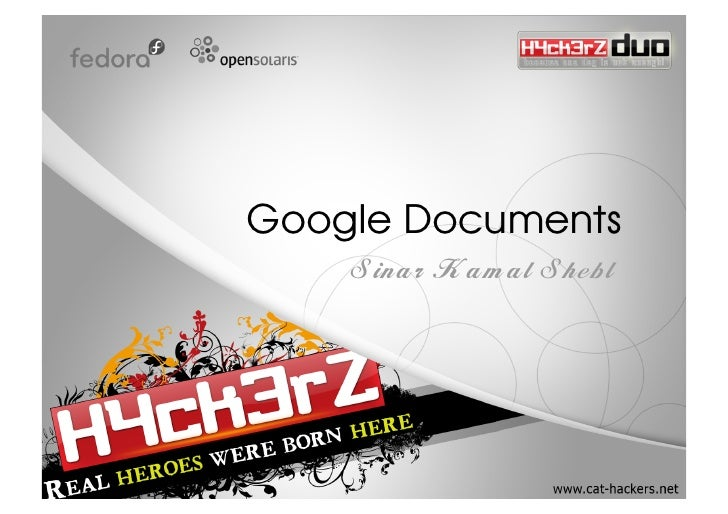 Google Documents     Sinar Kamal Shebl