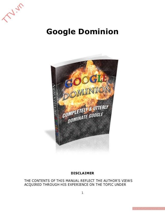 Google dominion