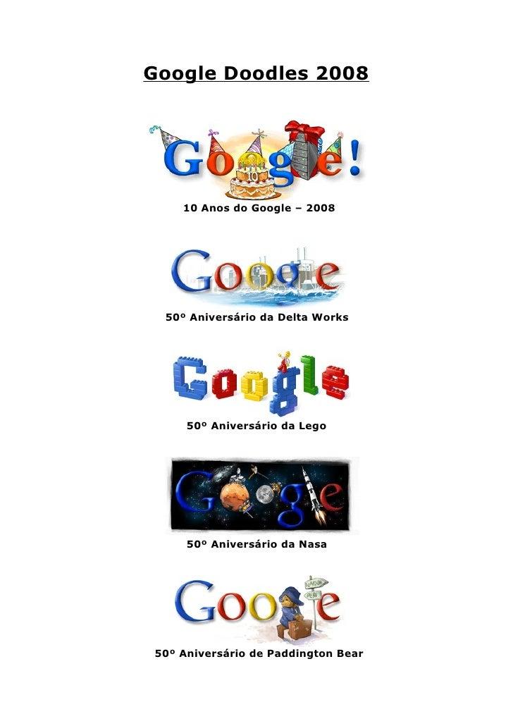Google Doodles 2008
