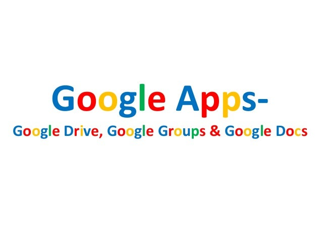 google drive google docs and google groups With documents in google groups