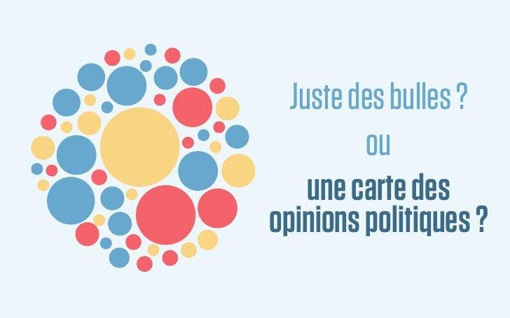 Juste des bulles ?         ou    une carte desopinions politiques ?