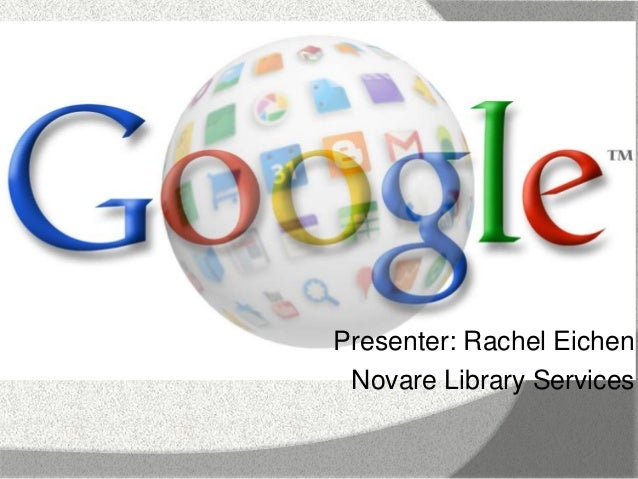 The Google Ecosystem: Google, Gmail & Chrome: 2-Part Webinar (11/12 and 11/19/13)