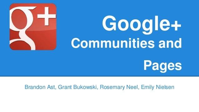 Google+ Communiti