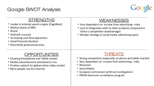 yahoo inc 2009 swot Yahoo, inc (nasdaq: yhoo yahoo, company) was the first of its kind guided by the technological and entrepreneurial spirit that defined the 1990s, yahoo was the first internet resource that allowed users to keep track of their.