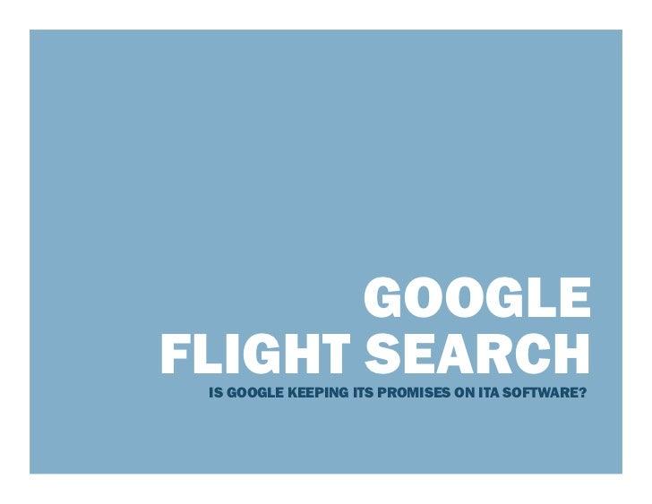 Google Flight Search 050312