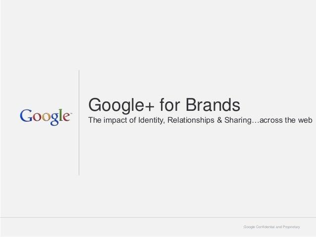 Google+ for expion