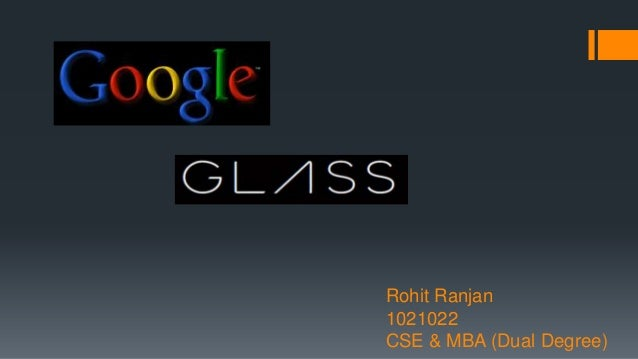 Technical Seminar Topic on Google glass