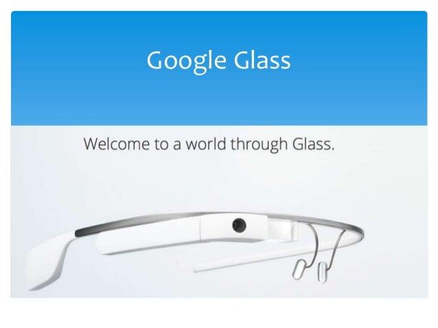 CIT 335 - Google Glass