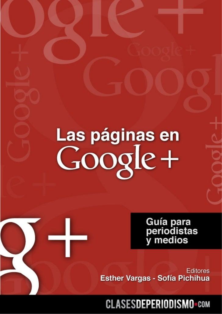 Google guia para periodistas y medios