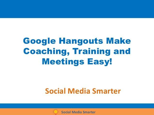Google hangouts v1