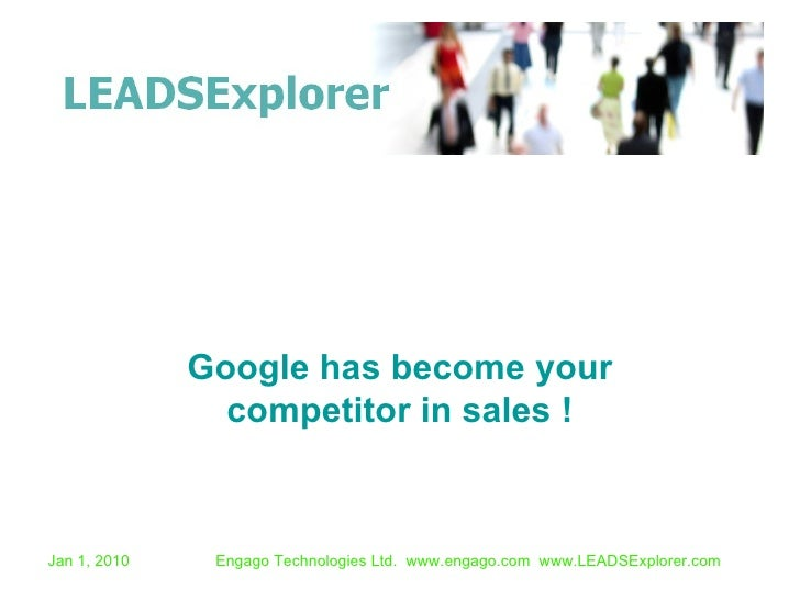 Google has become your competitor in sales !
