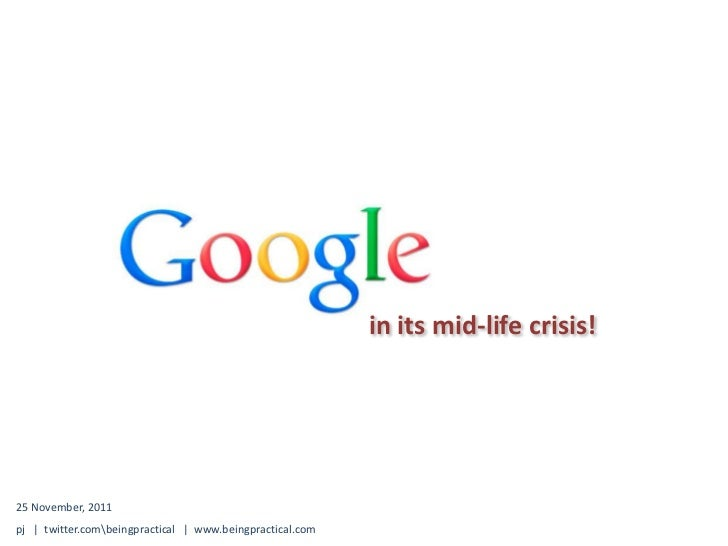 Google in its Mid-Life Crisis
