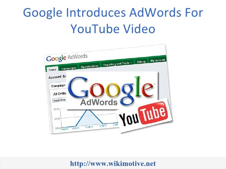 Google Introduces AdWords For YouTube Video
