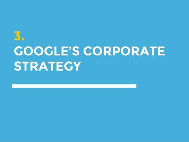 Google corporate diversification strategy