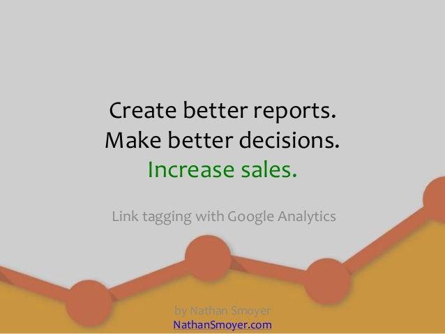 Google Link Tagging