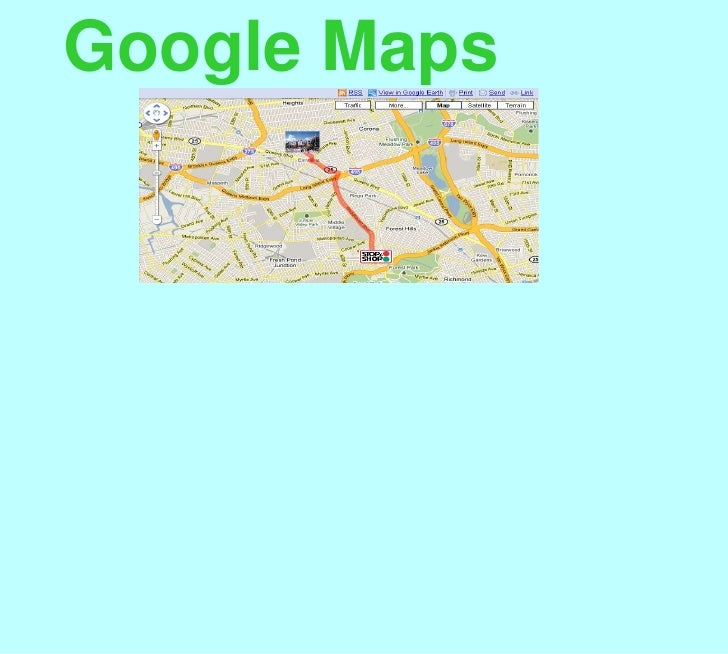 Google Map Presentation Final