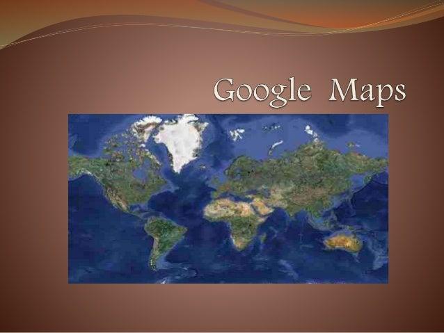 ¿Qué es Google Maps? Es un servidor de aplicaciones de mapas en La Web. Ofrece imágenes de mapas y fotos de satélite. Es g...