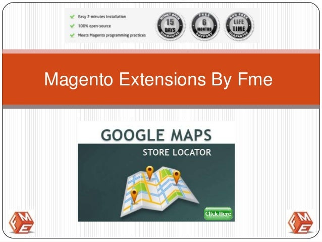 Magento Store Locator Extension By Fme