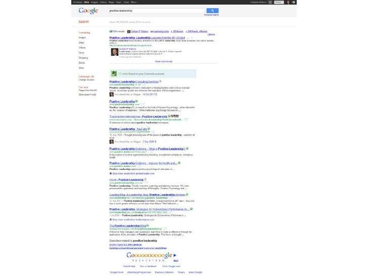 Google Page 1