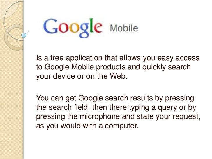 Google  phone aplication OMR