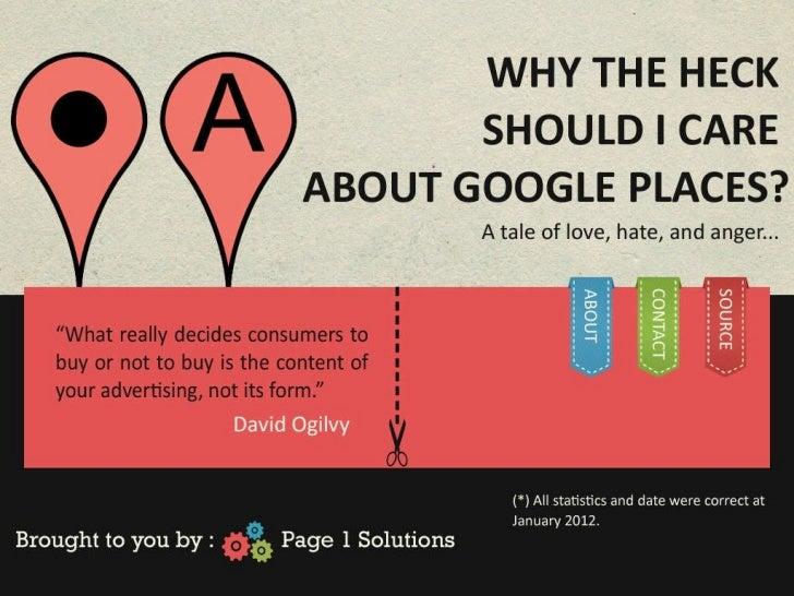 Google places webinar