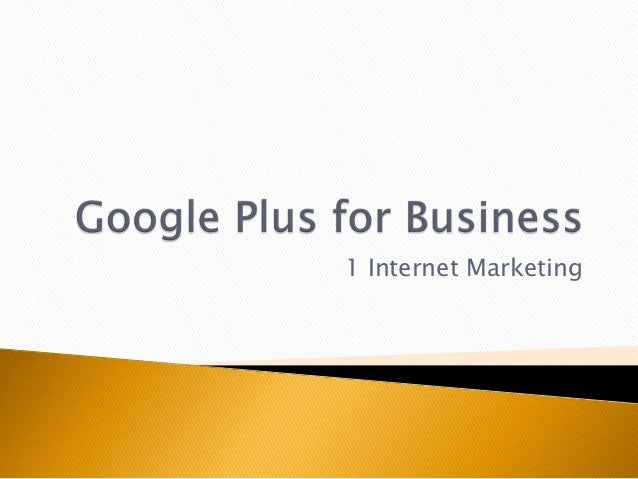 1 Internet Marketing
