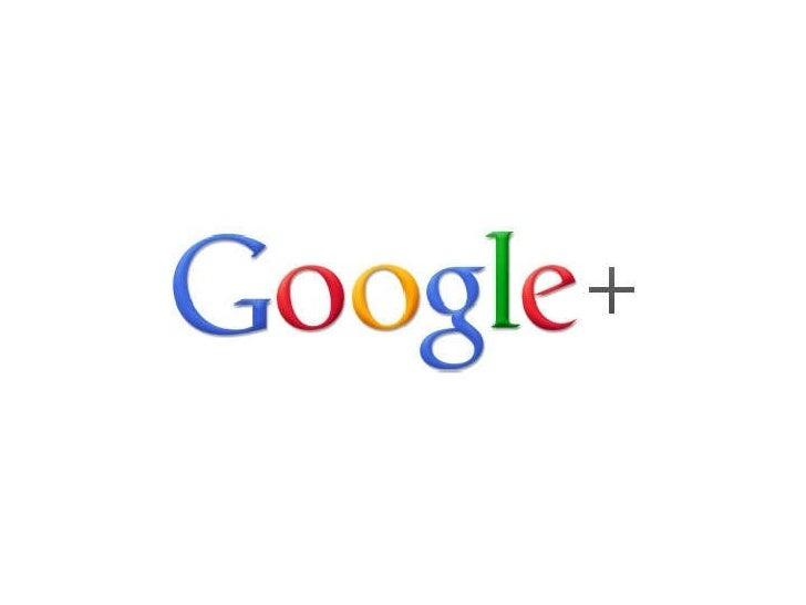 Google+ Presentation