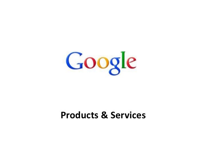 Products & Services<br />