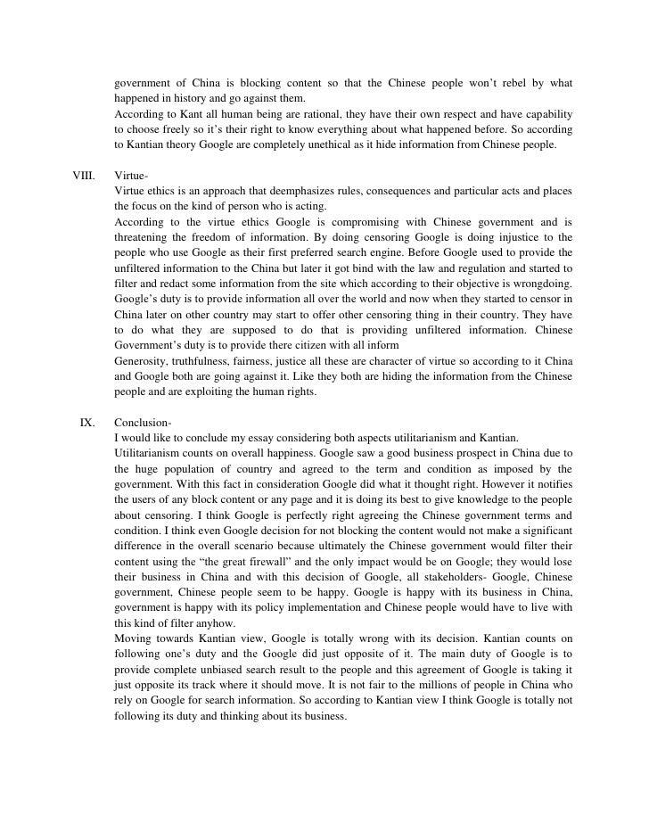 Essay topics for china