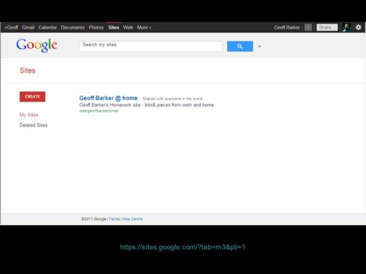 https:// sites.google.com /?tab=m3&pli=1