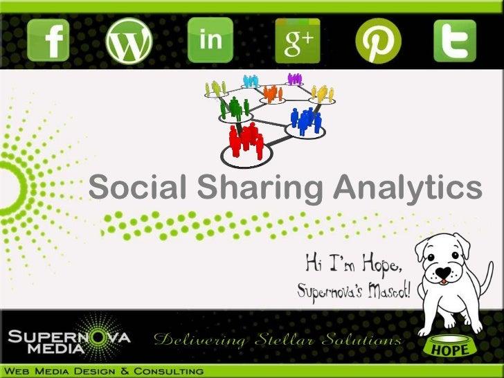 Google Social Sharing Analytics