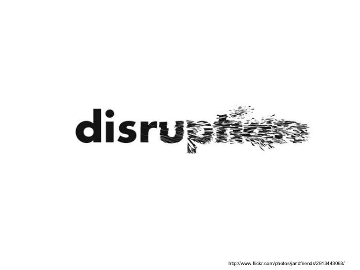 Disruption - Final Version