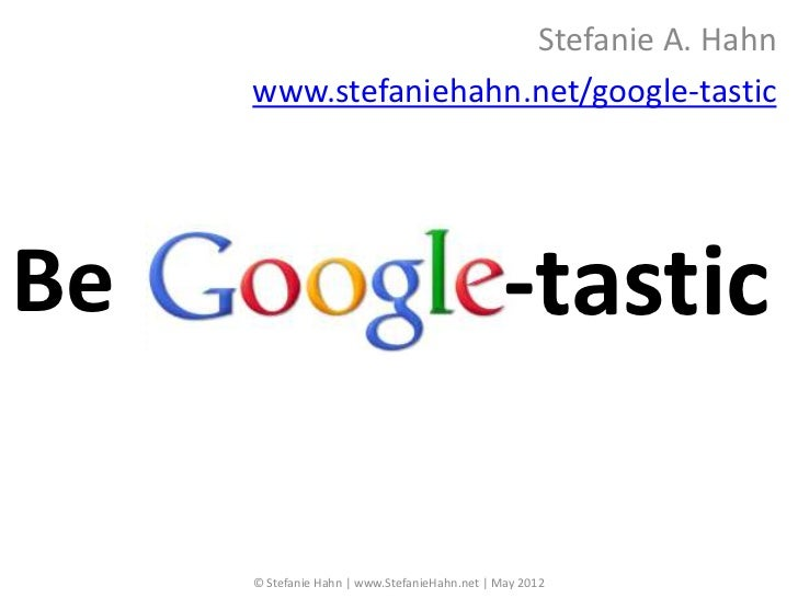 Be Google-tastic (LVAR CE)