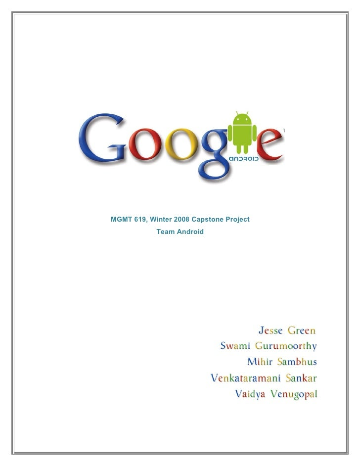 Google team android_final