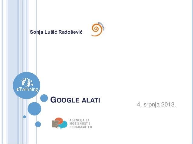 Google Tools - Google Drive i Google Docs