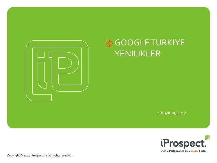 Google Türkiye Aramalarındaki Son Yenilikler