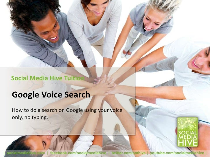 Social Media Hive Tuition    Google Voice Search    How to do a search on Google using your voice    only, no typing.| soc...