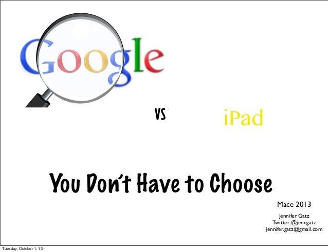 Google vsi pad