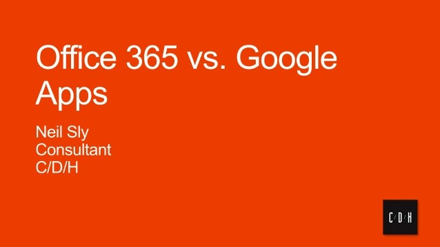 Google vs office 365