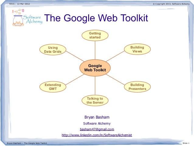 Google Web Toolkit: a case study