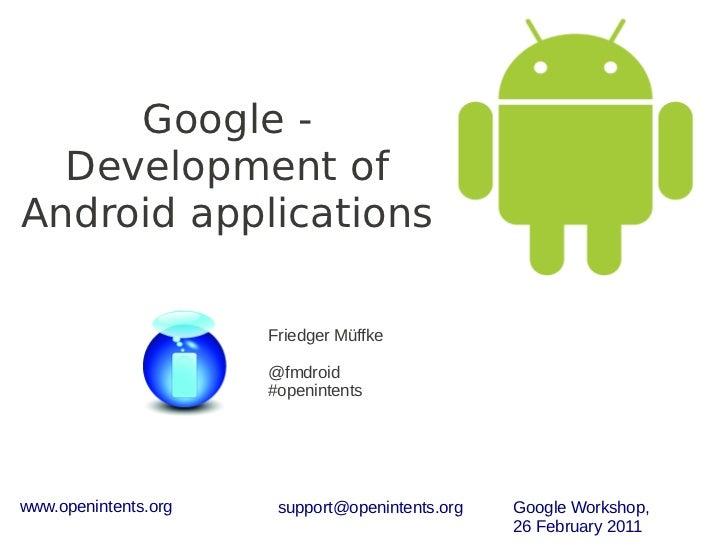 Google Workshop at International Congress of Youth Enterpreneurship by Friedger Müffke